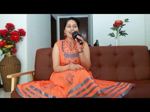 Yeh dharti chaand sitare (Anuradha Paudwal and Udit Narayan) sung by Manju Bala