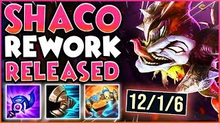 SHACO REWORK IS RELEASED!
