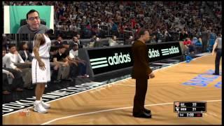 Nba 2k13 Wii U ~ Knicks vs Nets
