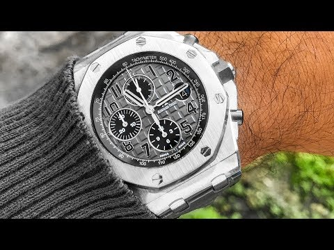 New Audemars Piguet Royal Oak Offshore Review - Stainless AP ROO Watches!