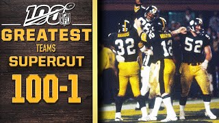 100 Greatest Teams: Numbers 100-1 SUPERCUT | NFL 100