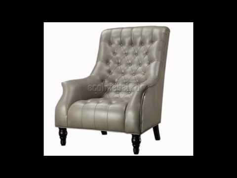 Кожаные кресла для гостиной