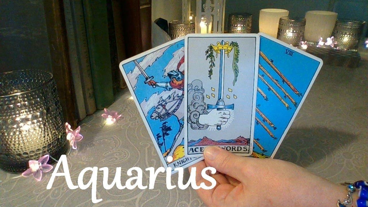 """Aquarius Mid August ❤ """"Please Talk To Me"""""""