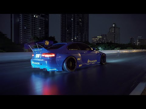 Liberty Walk vs Rocket Bunny Pandem BMW e92/93 in Thailand   Behind the Scenes & Extended Cut