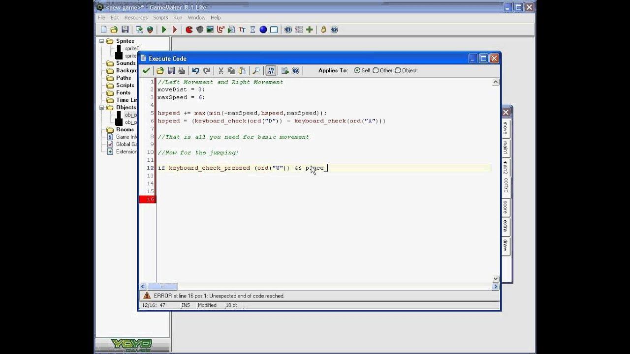 Game Maker 8.1 Youtube