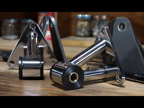 Speedway Polished Stainless Steel Chevy Motor Mounts Youtube