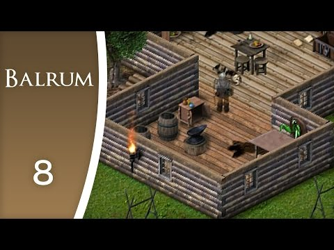 Crafting my own bow - Let's Play Balrum #8