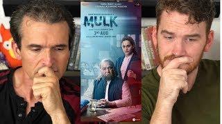 MULK | Rishi Kapoor | Taapsee Pannu | Trailer Reaction!