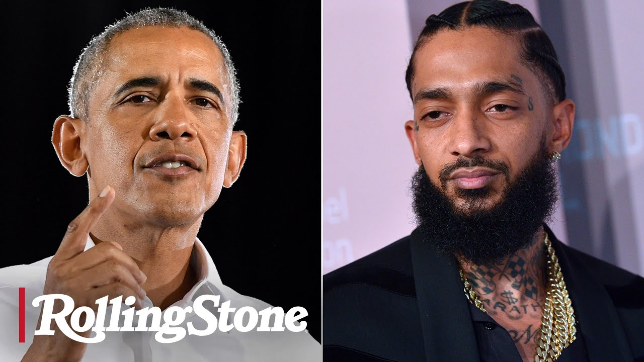 Barack Obama's Moving Tribute to Nipsey Hussle - RS News 4/12/19