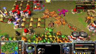 Mod Warcraft III La Guerre des Mondes Game N°3 Technique du Bronze Rush