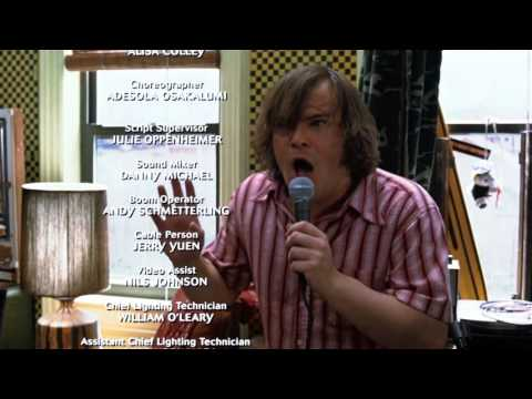 School of Rock Credits  Jack Black  Its A Long Way To The Top HD+Sub