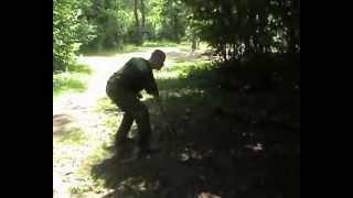 Метание ножа vs рукопашный бой. Урок 1