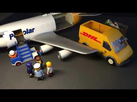 playmobil airplane customized qatar air canada polar. Black Bedroom Furniture Sets. Home Design Ideas