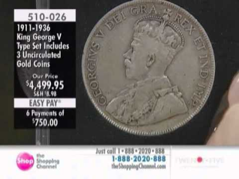 High Quality Coins of King George V 1911-1936 at The Shopping Channel 510026