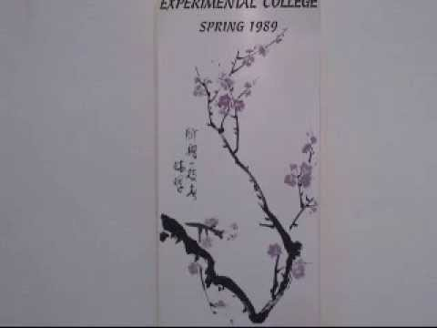 Plum Blossom Chinese Painting Tutorial (1 of 5)
