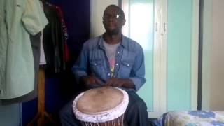 Roots, Rock, Reggae by Bob Marley (BEST djembe cover on the web)
