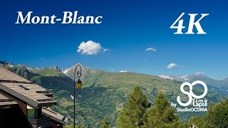 Time-lapse 4K Nuages sur le Mont-Blanc