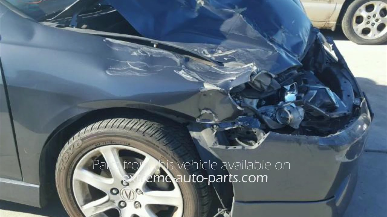 Acura TSX MT Gray Parts Vehicle AA YouTube - 2005 acura tsx parts