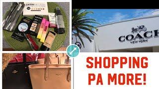 Shopping galore! Coach Bag!Makeup!Relo- Olazo Family