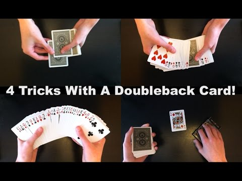 Easy And Insane Tricks Using Doubleback Card
