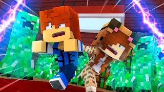 Minecraft Daycare - UNDER ATTACK ?! (Minecraft Roleplay)