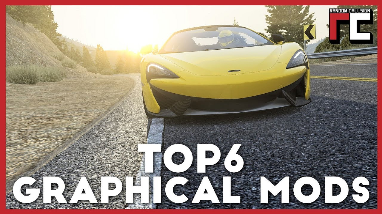 MY TOP 6 Graphical mods for Assetto Corsa in 2018
