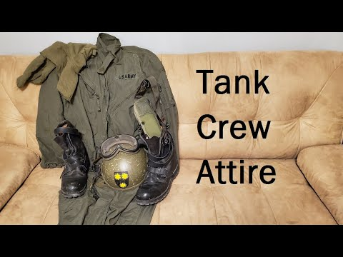 US Tank Crew Personal Clothing And Equipment