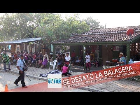 Se desató la balacera en Acapulco