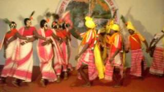 """Munda"" tribe  Dance from Jharkhand"