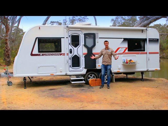 Bailey Caravans - Unicorn Pamplona Review
