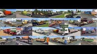 Euro Truck Simulator 2 Обзор Самого большого пака прицепов от Jazzycat