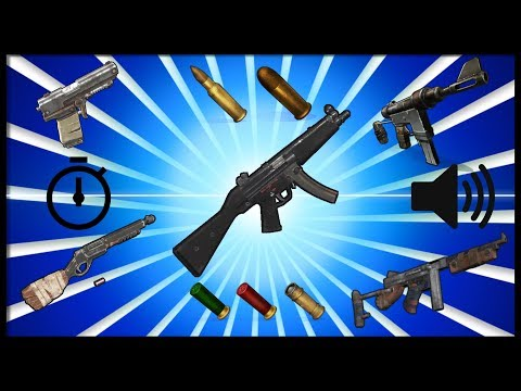 Rust Academy: MID TIER GUNS | DAMAGE, SOUNDS, DRAW & RELOAD TIME