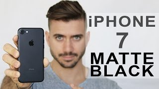 UNBOXING iPHONE 7 MATTE BLACK 128GB | 6s vs 7 | ALEX COSTA
