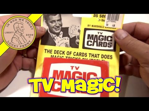 TV Magic Cards with Magician Marshall Brodien aka Wizzo The Wizard - Bozo Show, 2003 Cadaco