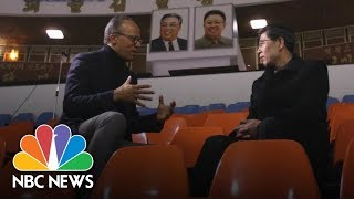 North Korean Olympic Official: Unified Team Will Work Fine Together | NBC News