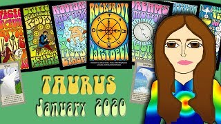 TAURUS JANUARY 2020 Divine Intervention! Tarot psychic reading forecast predictions