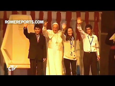 Đức Giáo Hoàng với Giới trẻ: Hãy khuấy động cuộc sống và giữ trái tim được tự do