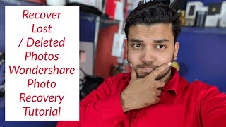 Recover Lost or Deleted Photos From Anywhere - Recoverit Photo Recovery Software Tutorial in Hindi