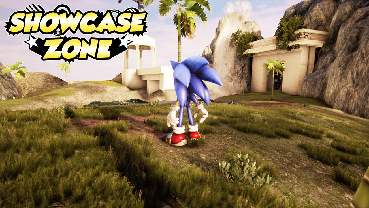 Showcase Zone Sonic Adventure 2 Chao Garden Unreal