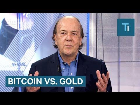 Economist Jim Rickards On Gold Versus Bitcoin