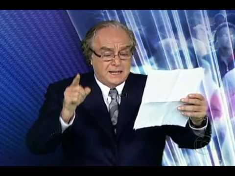 Arnaldo Jabor - As declarações feitas por Collor sobre José Sarney no passado