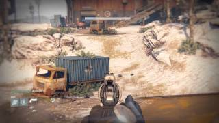 Destiny - Patrol Cosmodrome: Duke MK.21 (Hand Cannon) Details & Fists of Havoc Gameplay PS4