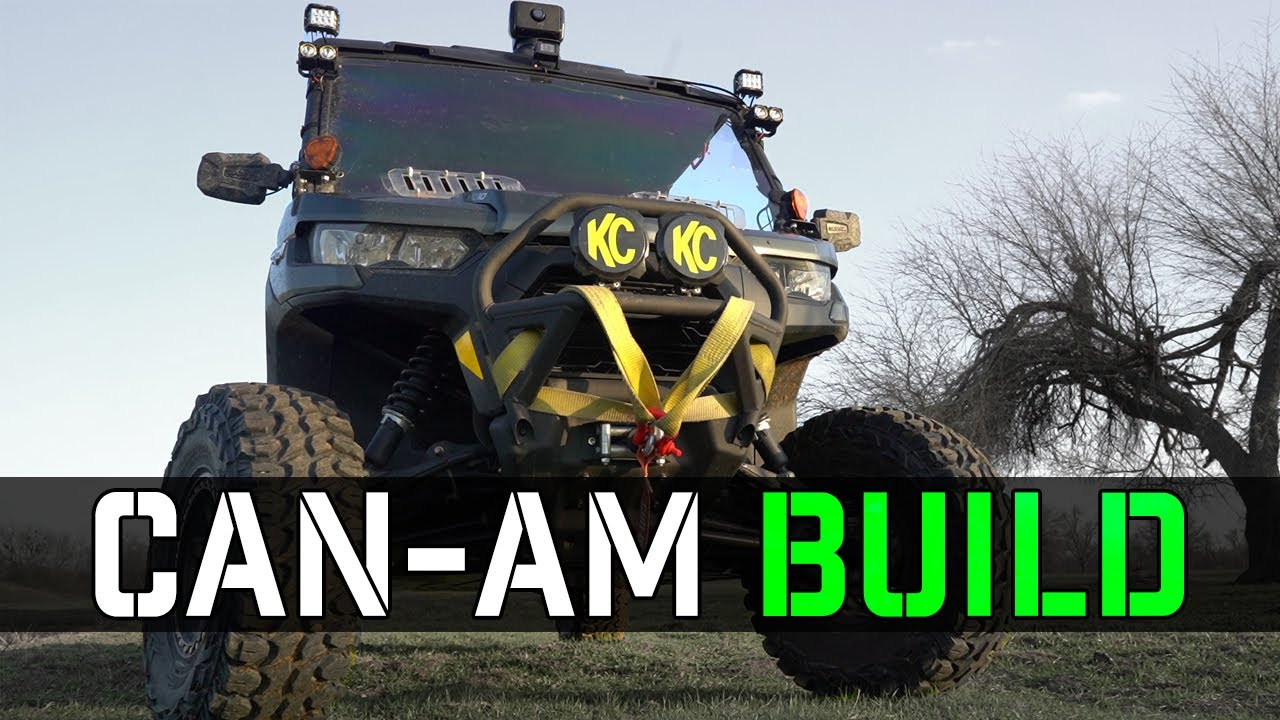 Texas Jagd - 2020 Can-Am Defender Max HD10 Hog Hunting Build