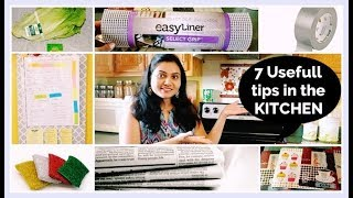 7 Usefull Tips & Tricks in the Kitchen (Hindi)    #KitchenHacks    #kitchentips