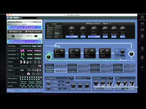 AudioMIDI.com   Novation Ultranova
