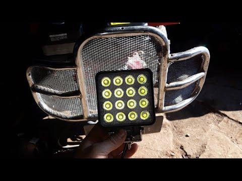 Фара для мотоблока трактора или даже комбайна