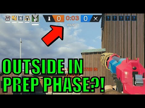 Get OUTSIDE During PREPARATION PHASE! Rainbow Six Siege Gameplay thumbnail