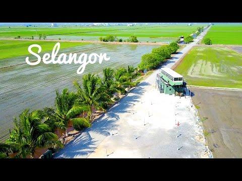 BEST 4K AERIAL VIEW IN SELANGOR - KUALA SELANGOR, SEKINCHAN & SABAK BERNAM
