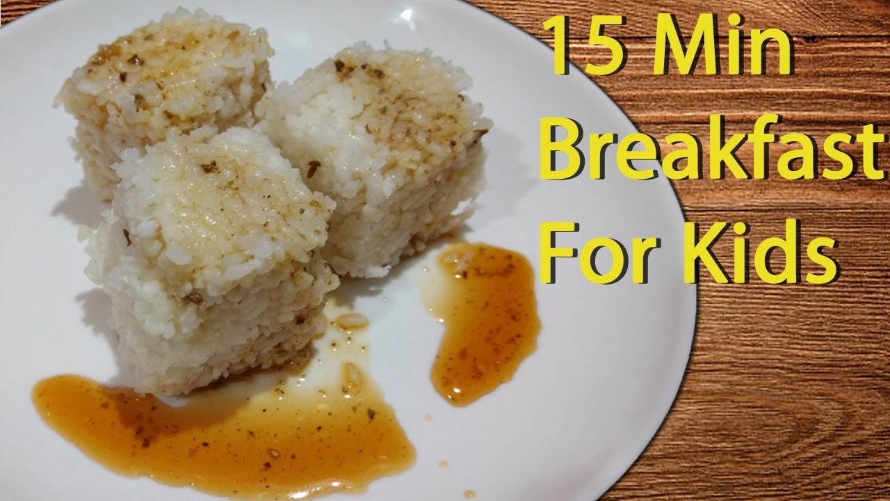 Healthy easy and tasty breakfast for Kids recipe - YouTube