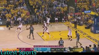 NBA Finals Game 2 Highlights (End of 3rd Quarter) Cavs vs Warriors 2018